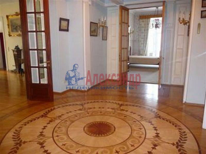7-комнатная квартира (380м2) в аренду по адресу Каменноостровский пр., 75— фото 6 из 8