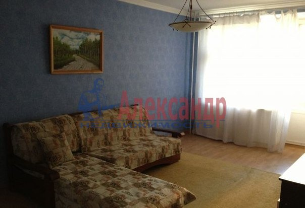 1-комнатная квартира (39м2) в аренду по адресу 2 Муринский пр., 6— фото 4 из 4