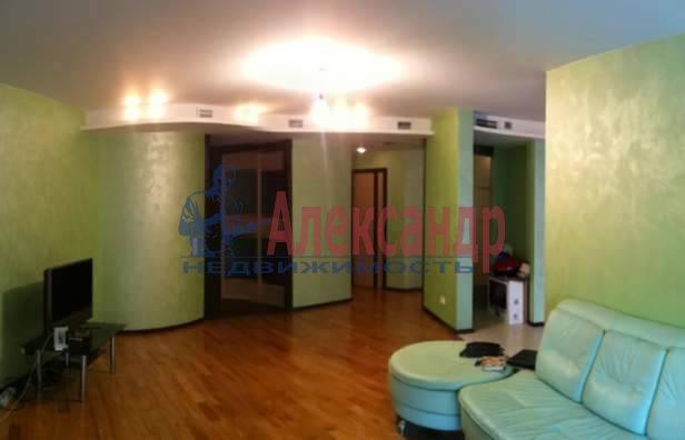 3-комнатная квартира (120м2) в аренду по адресу Приморский пр., 137— фото 4 из 10