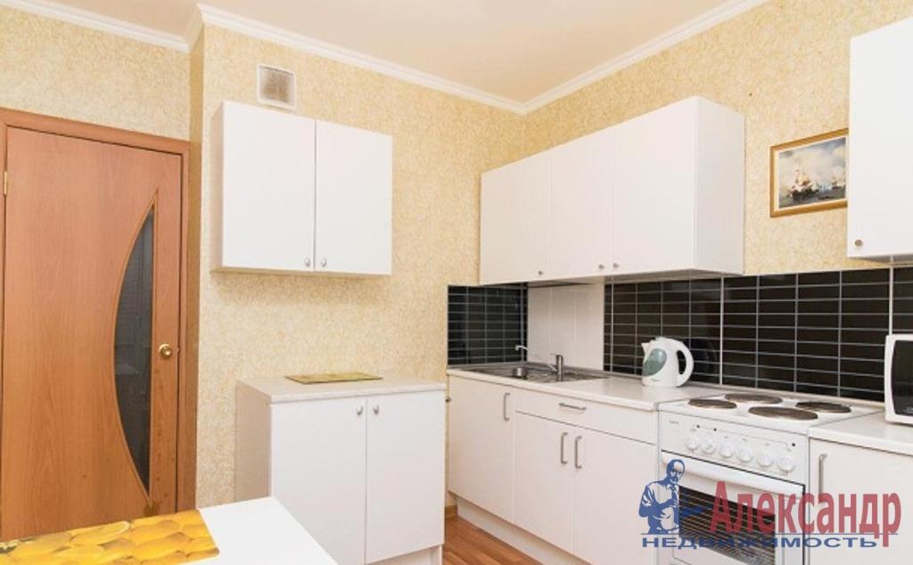 1-комнатная квартира (50м2) в аренду по адресу Науки пр., 63— фото 2 из 3