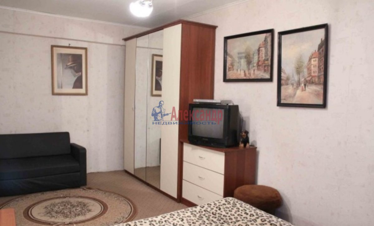 1-комнатная квартира (30м2) в аренду по адресу Спасский пер., 4— фото 1 из 4