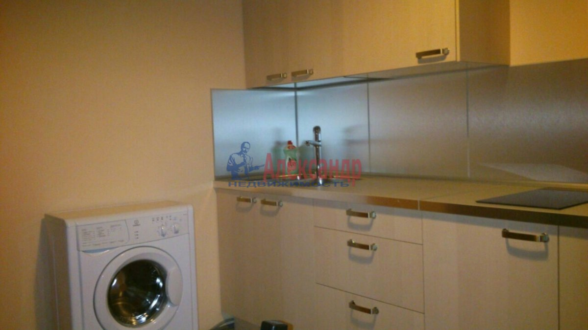 1-комнатная квартира (43м2) в аренду по адресу Комендантский пр., 12— фото 3 из 5