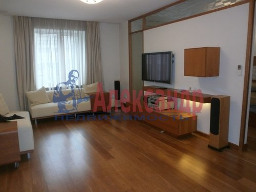 2-комнатная квартира (69м2) в аренду по адресу Кременчугская ул., 11— фото 11 из 11