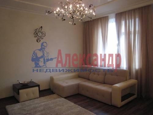 2-комнатная квартира (75м2) в аренду по адресу Смольного ул., 2— фото 3 из 8