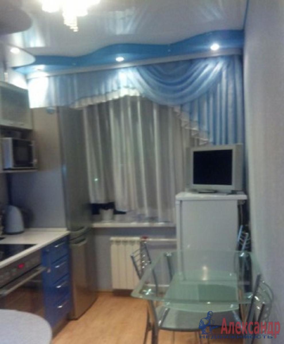 1-комнатная квартира (39м2) в аренду по адресу Новосмоленская наб., 1— фото 2 из 2