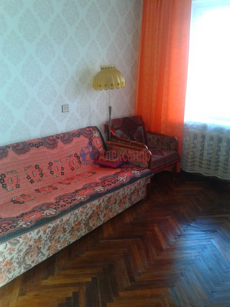 2-комнатная квартира (54м2) в аренду по адресу Шлиссельбургский пр., 34— фото 5 из 15