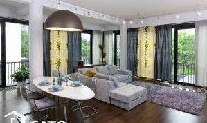 3-комнатная квартира (118м2) в аренду по адресу Барочная ул., 12— фото 1 из 6
