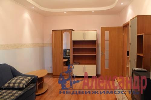2-комнатная квартира (63м2) в аренду по адресу Науки пр., 17— фото 5 из 6