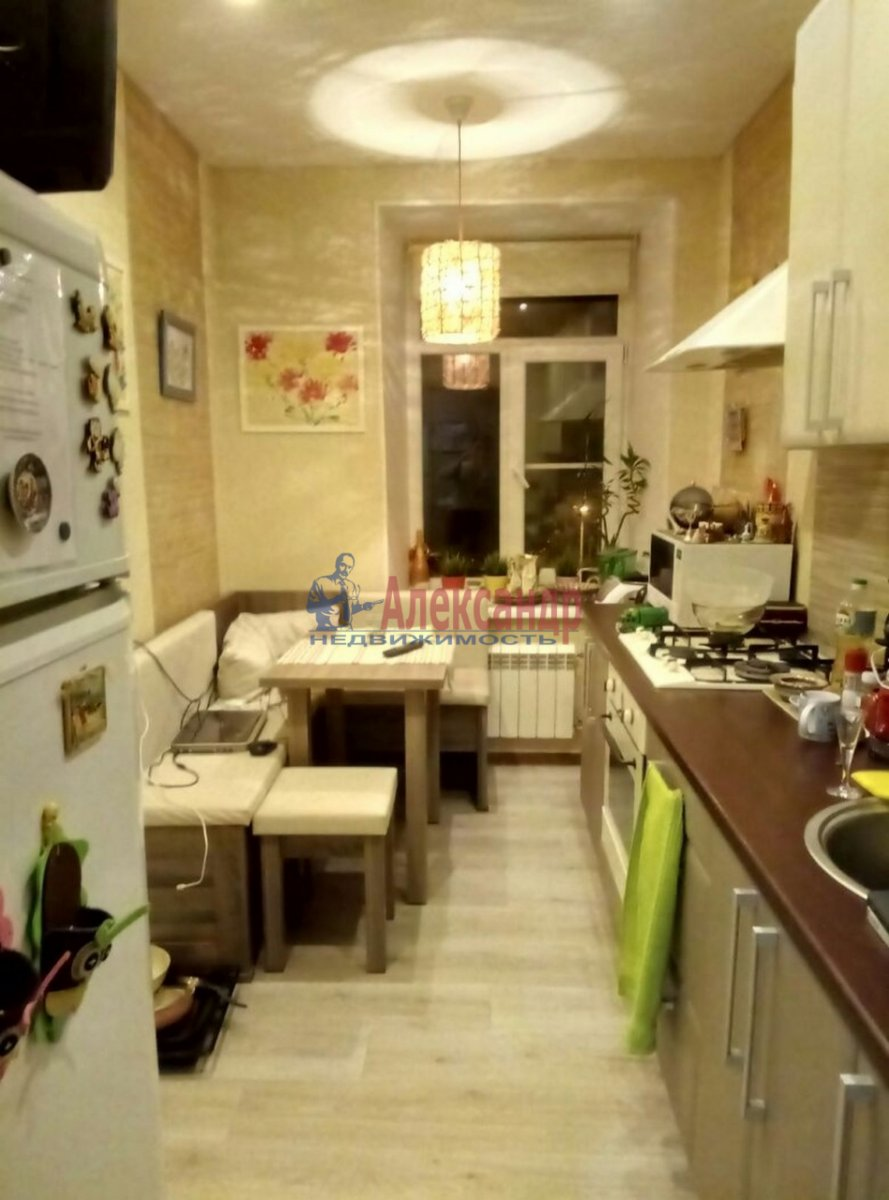 1-комнатная квартира (44м2) в аренду по адресу Боровая ул., 58— фото 2 из 6