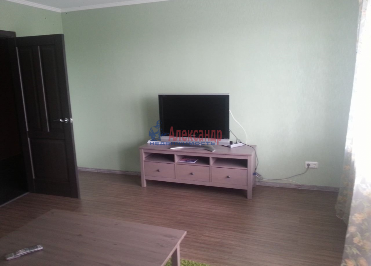 1-комнатная квартира (45м2) в аренду по адресу Ветеранов пр., 75— фото 6 из 6