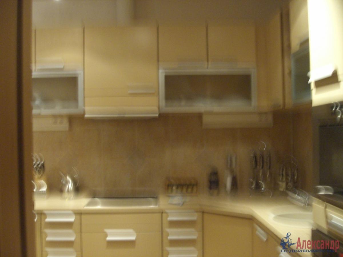 1-комнатная квартира (35м2) в аренду по адресу Российский пр., 14— фото 3 из 3