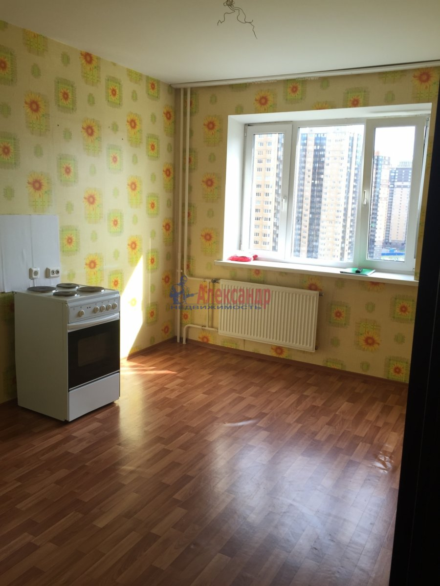 1-комнатная квартира (42м2) в аренду по адресу Михаила Дудина ул., 25— фото 2 из 5
