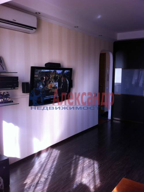 1-комнатная квартира (42м2) в аренду по адресу Богатырский пр., 5— фото 3 из 5