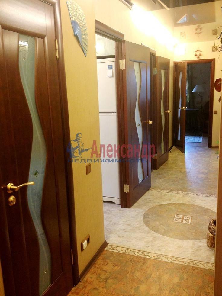 2-комнатная квартира (60м2) в аренду по адресу Испытателей пр., 6— фото 1 из 16