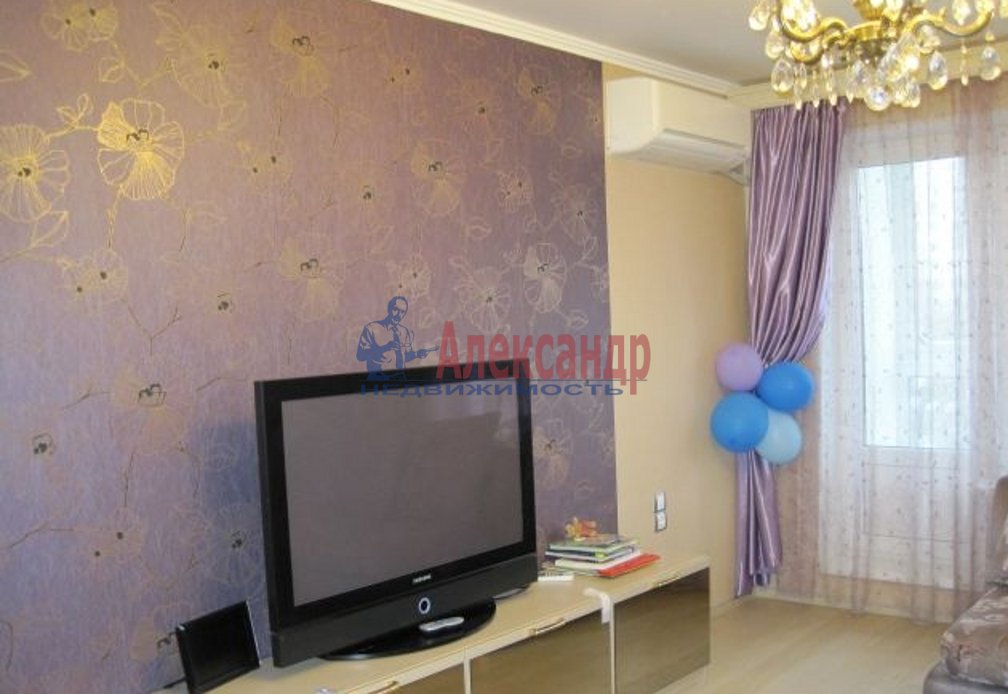 1-комнатная квартира (39м2) в аренду по адресу Сикейроса ул., 7— фото 2 из 2