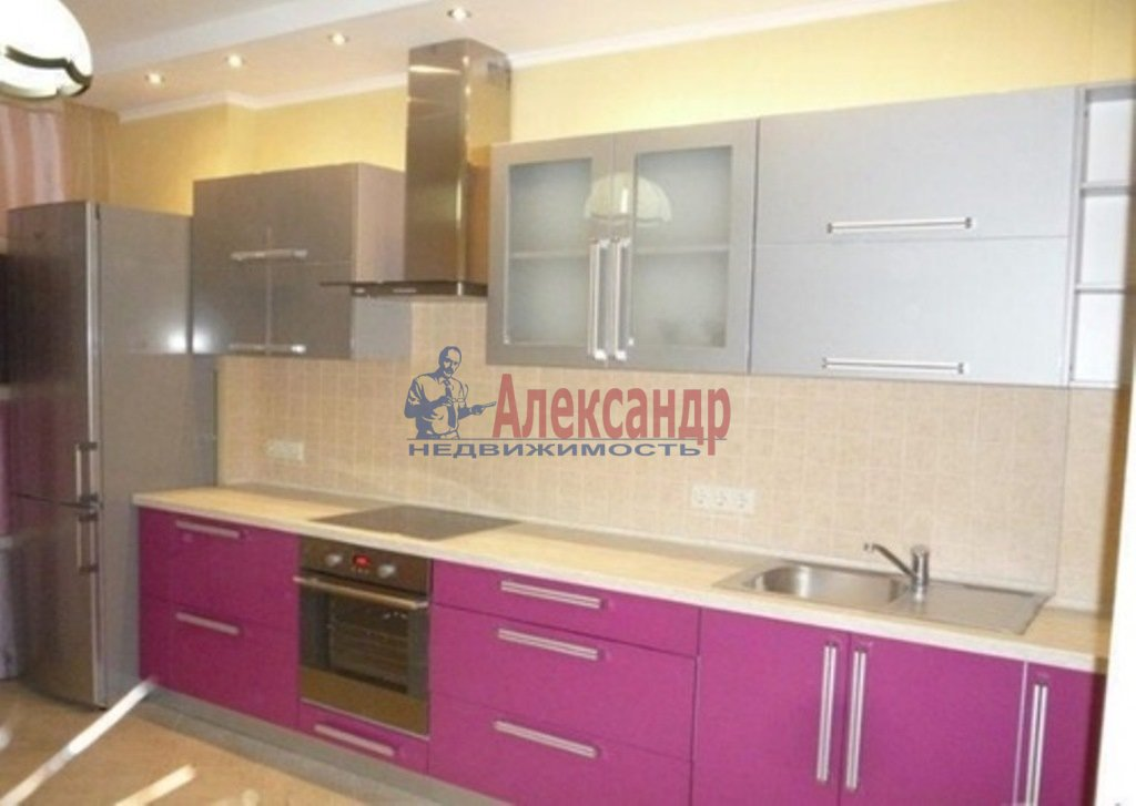 2-комнатная квартира (72м2) в аренду по адресу Обуховской Обороны пр., 110— фото 4 из 10