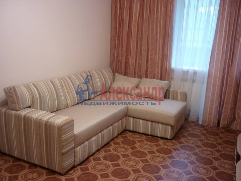 1-комнатная квартира (41м2) в аренду по адресу Косыгина пр., 32— фото 3 из 7