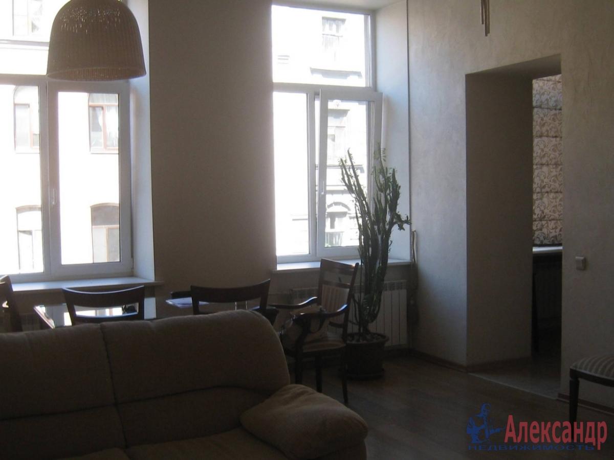 3-комнатная квартира (91м2) в аренду по адресу Колокольная ул., 3— фото 3 из 18