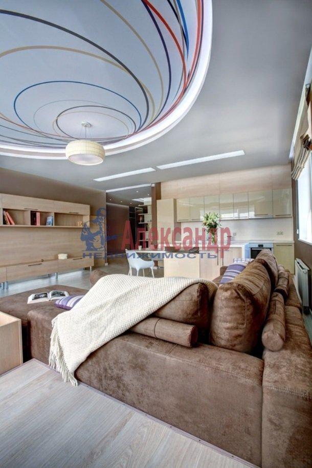 3-комнатная квартира (145м2) в аренду по адресу Морской пр., 11— фото 1 из 8