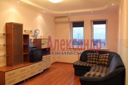 2-комнатная квартира (70м2) в аренду по адресу Просвещения пр., 34— фото 5 из 8