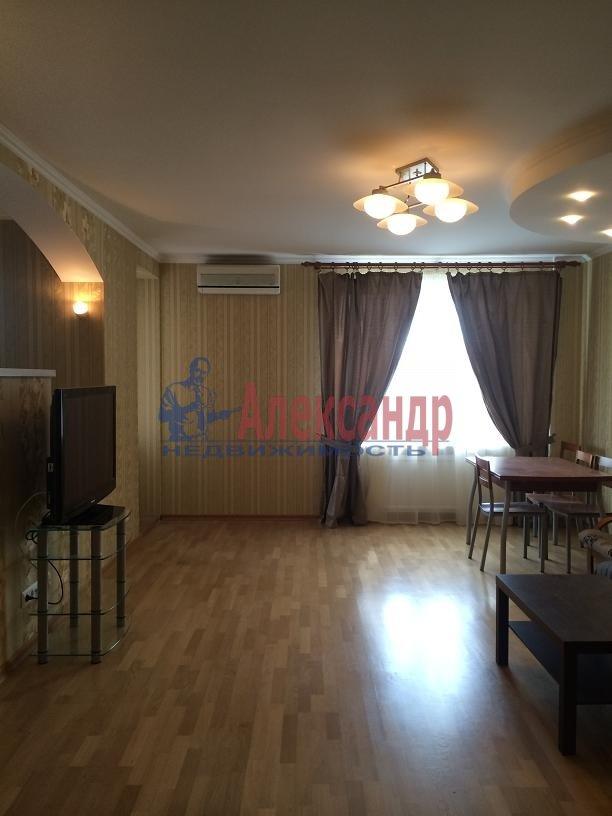 2-комнатная квартира (80м2) в аренду по адресу Выборгское шос., 5— фото 5 из 20
