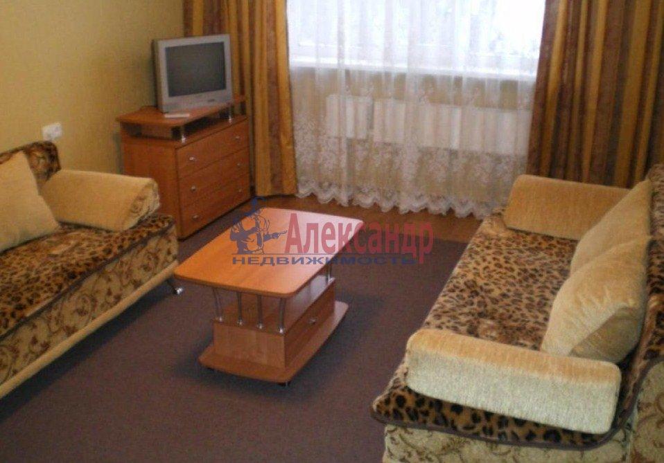 1-комнатная квартира (42м2) в аренду по адресу Бугры пос., Школьная ул., 11— фото 3 из 3