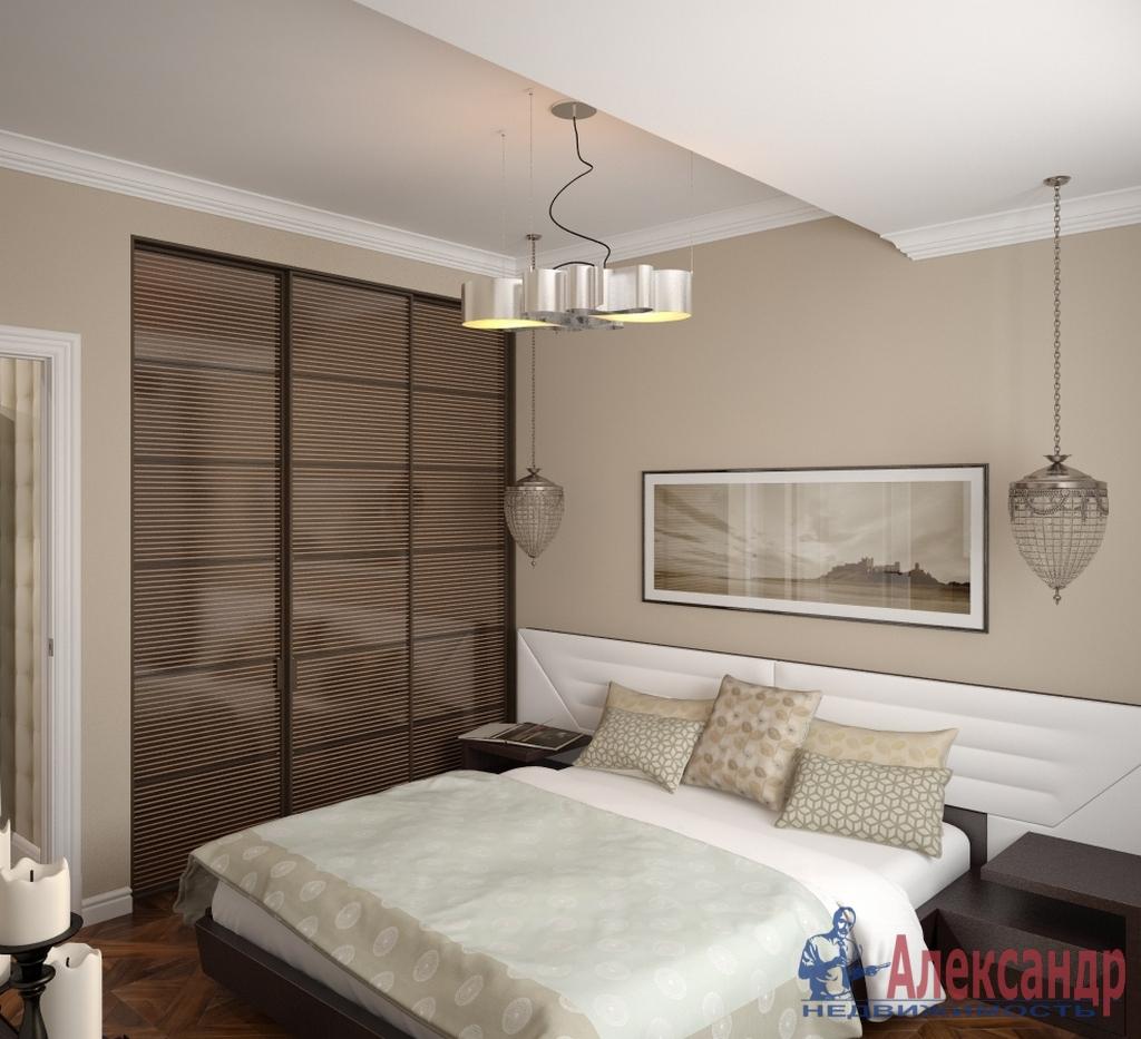 3-комнатная квартира (110м2) в аренду по адресу Петровский пр., 14— фото 2 из 4