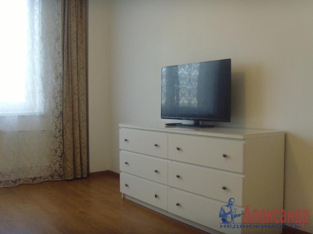 1-комнатная квартира (40м2) в аренду по адресу Земледельческая ул., 5— фото 3 из 5