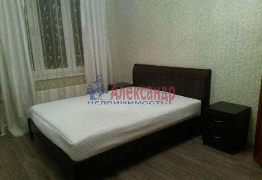 1-комнатная квартира (45м2) в аренду по адресу Туристская ул., 23— фото 2 из 6