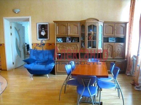 3-комнатная квартира (120м2) в аренду по адресу Владимирский пр., 7— фото 2 из 3