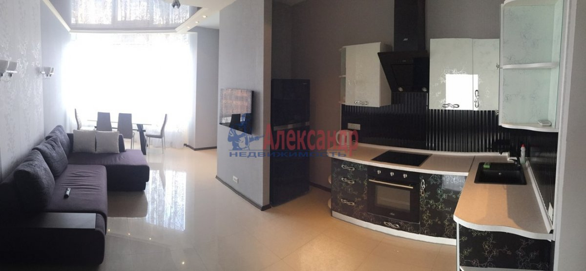 2-комнатная квартира (71м2) в аренду по адресу Обводного канала наб., 108— фото 2 из 6