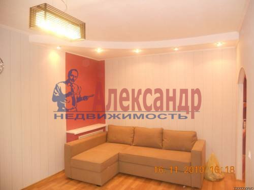 1-комнатная квартира (40м2) в аренду по адресу Шлиссельбургский пр., 24— фото 8 из 12