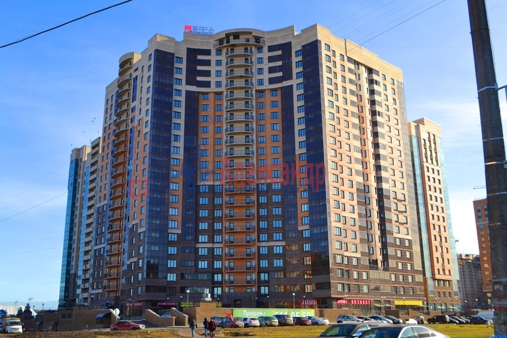 1-комнатная квартира (44м2) в аренду по адресу Бутлерова ул., 11— фото 13 из 16