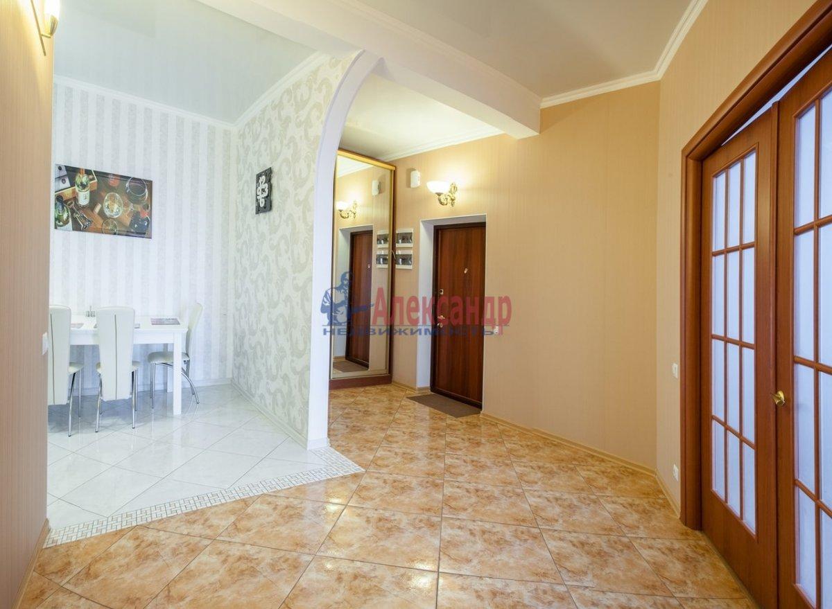 2-комнатная квартира (75м2) в аренду по адресу Юрия Гагарина просп., 7— фото 3 из 7