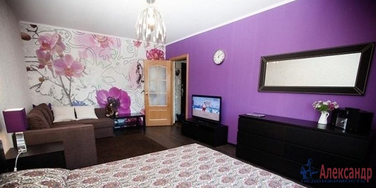 1-комнатная квартира (45м2) в аренду по адресу Искровский пр., 22— фото 1 из 2