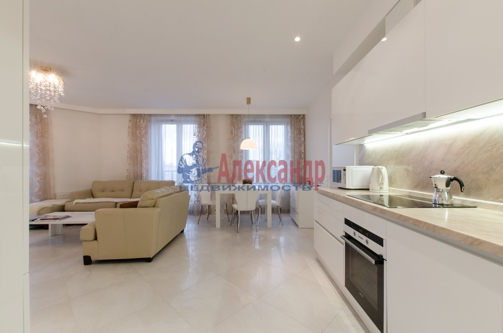 2-комнатная квартира (66м2) в аренду по адресу Чернышевского пр., 4— фото 1 из 27