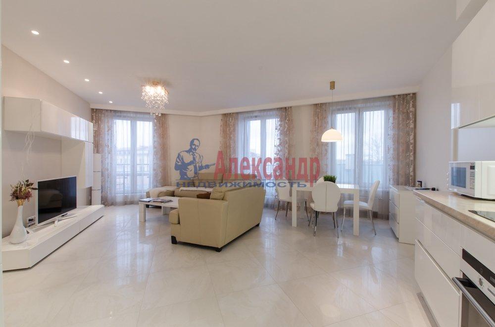 2-комнатная квартира (66м2) в аренду по адресу Чернышевского пр., 4— фото 2 из 27