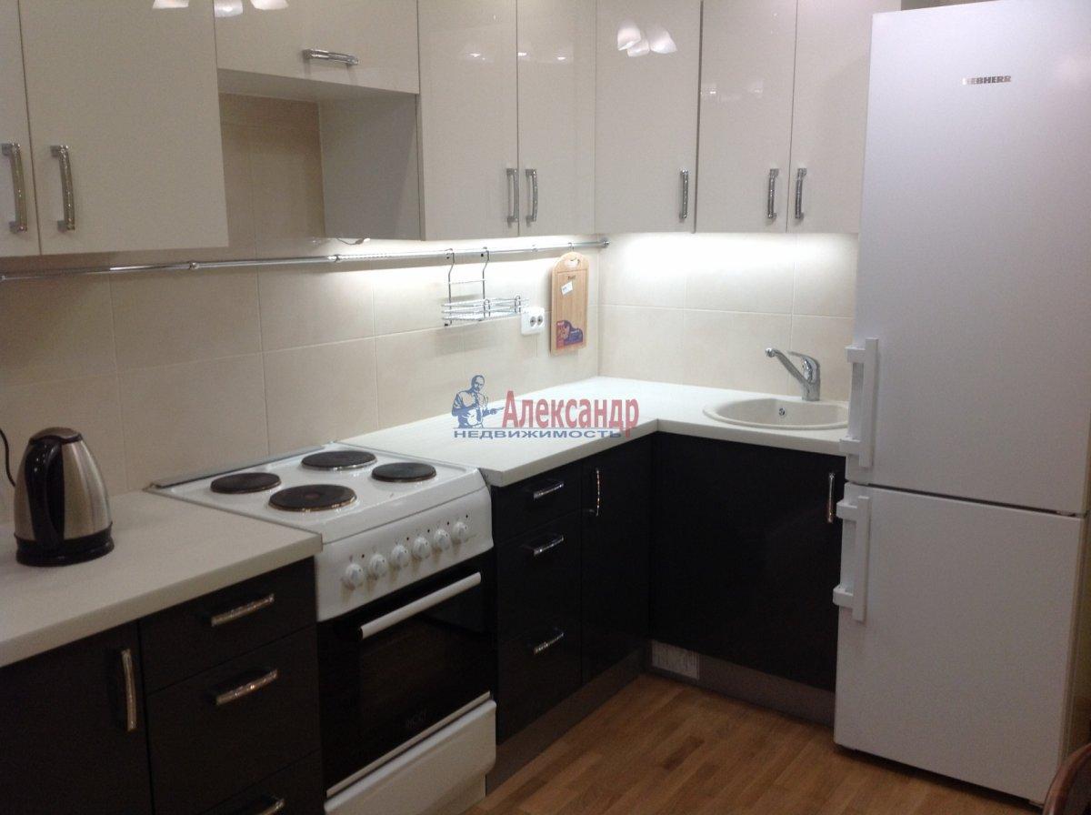 1-комнатная квартира (49м2) в аренду по адресу Мурино пос., Привокзальная пл., 3— фото 1 из 8