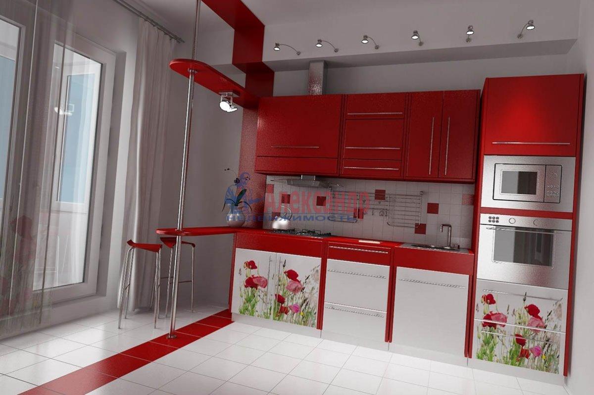 3-комнатная квартира (95м2) в аренду по адресу Фаворского ул., 15— фото 1 из 2