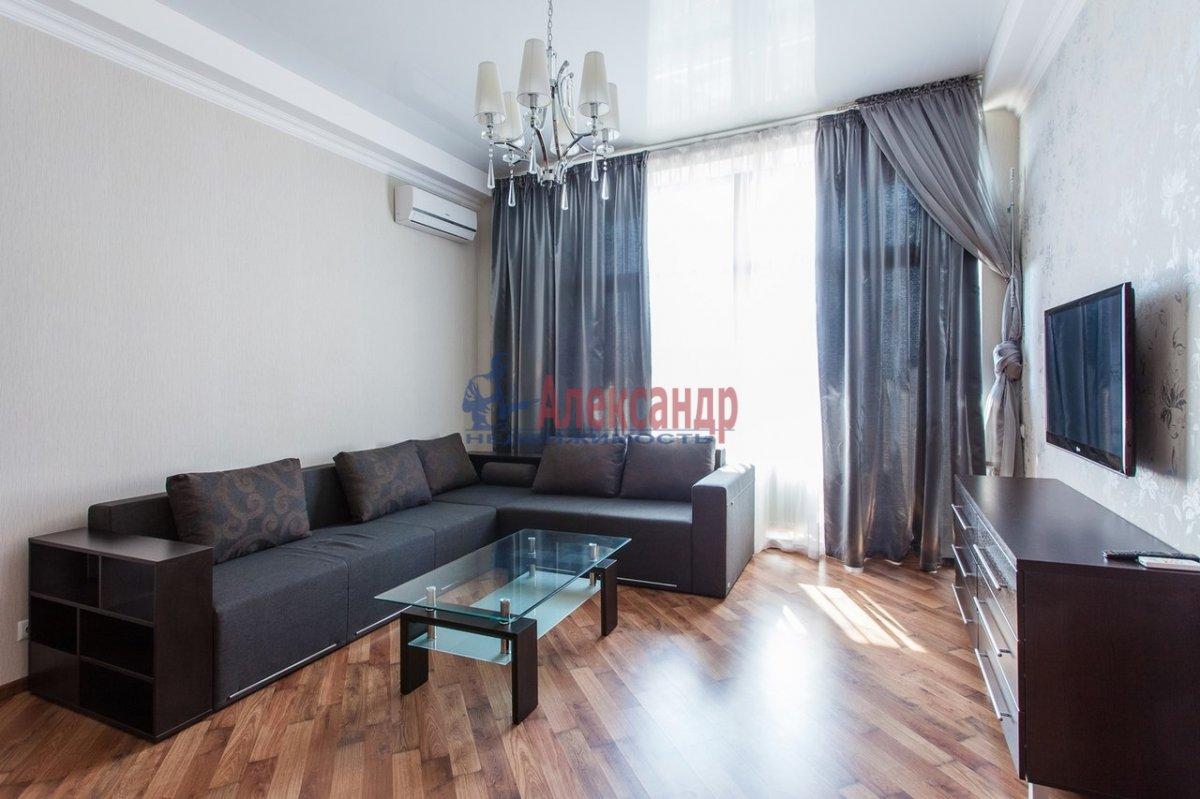 2-комнатная квартира (75м2) в аренду по адресу Юрия Гагарина просп., 7— фото 6 из 7