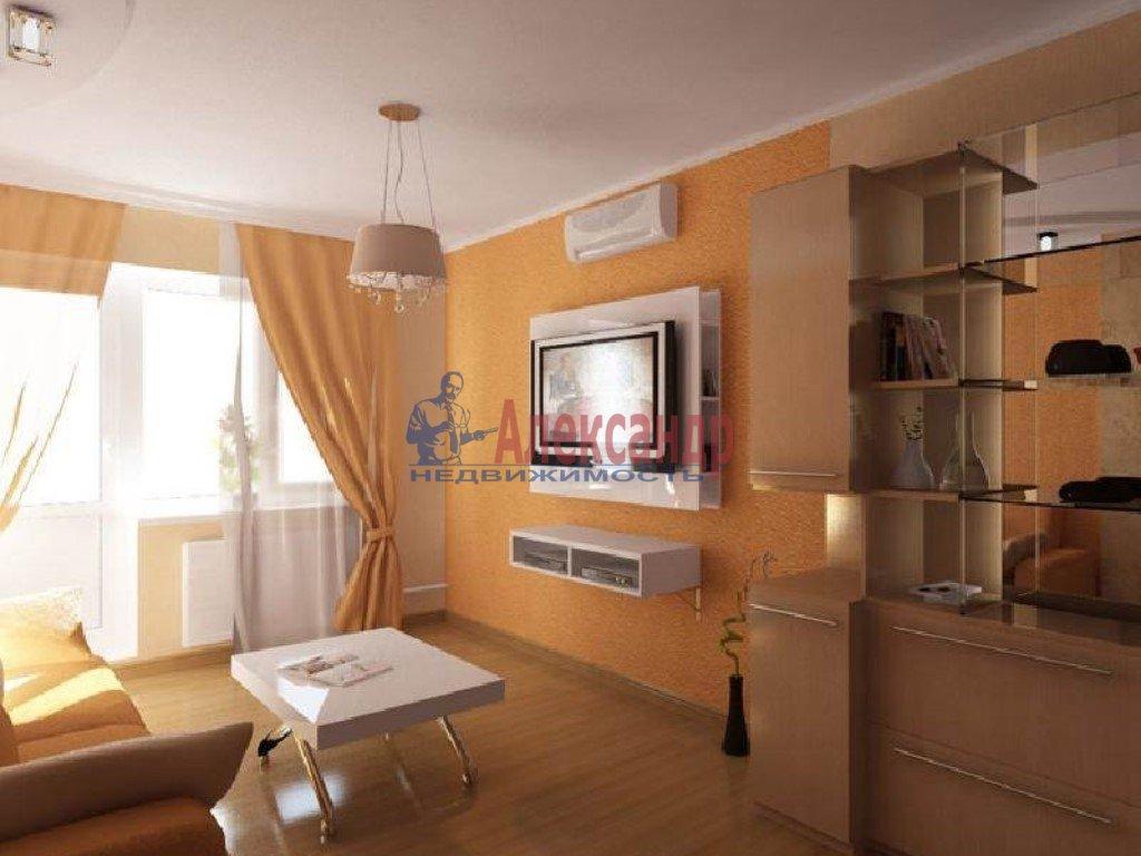 2-комнатная квартира (55м2) в аренду по адресу Луначарского пр., 13— фото 1 из 1