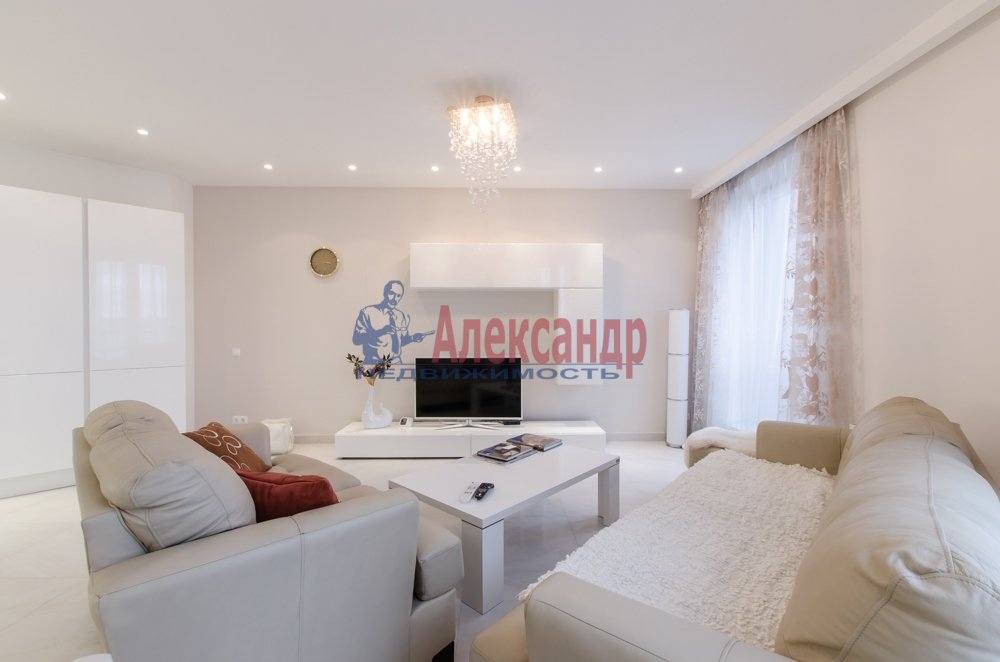 2-комнатная квартира (66м2) в аренду по адресу Чернышевского пр., 4— фото 5 из 27