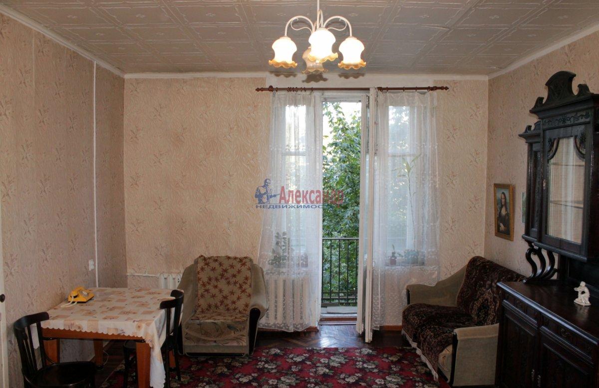 1-комнатная квартира (40м2) в аренду по адресу Кубинская ул., 60— фото 4 из 5