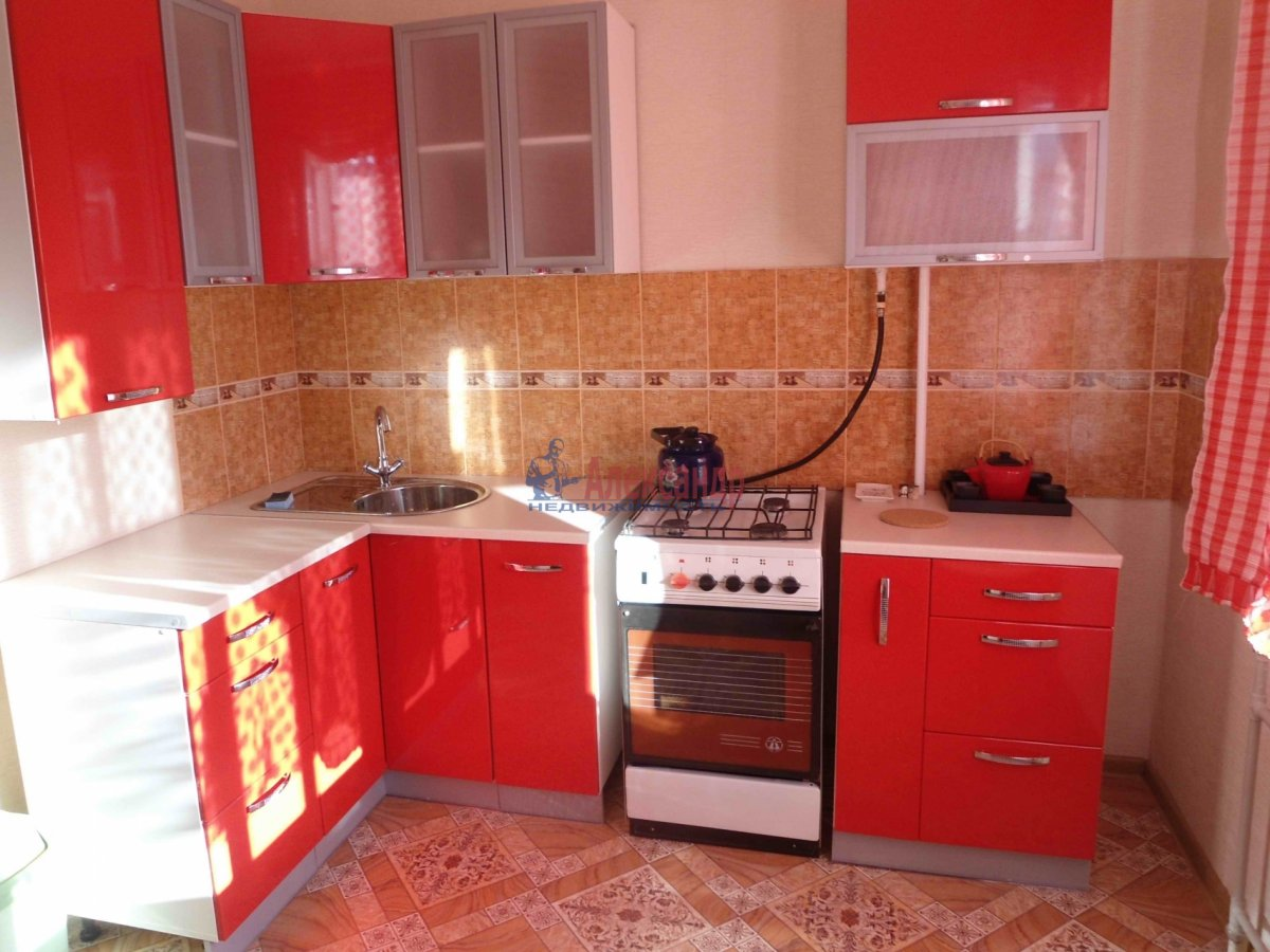 1-комнатная квартира (45м2) в аренду по адресу Комендантский пр., 13— фото 2 из 2