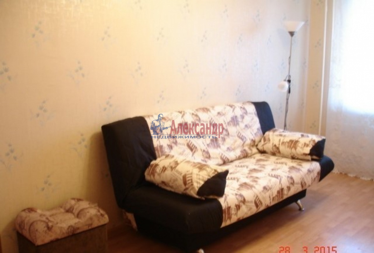 1-комнатная квартира (39м2) в аренду по адресу Шушары пос., Галицкая ул.— фото 4 из 4