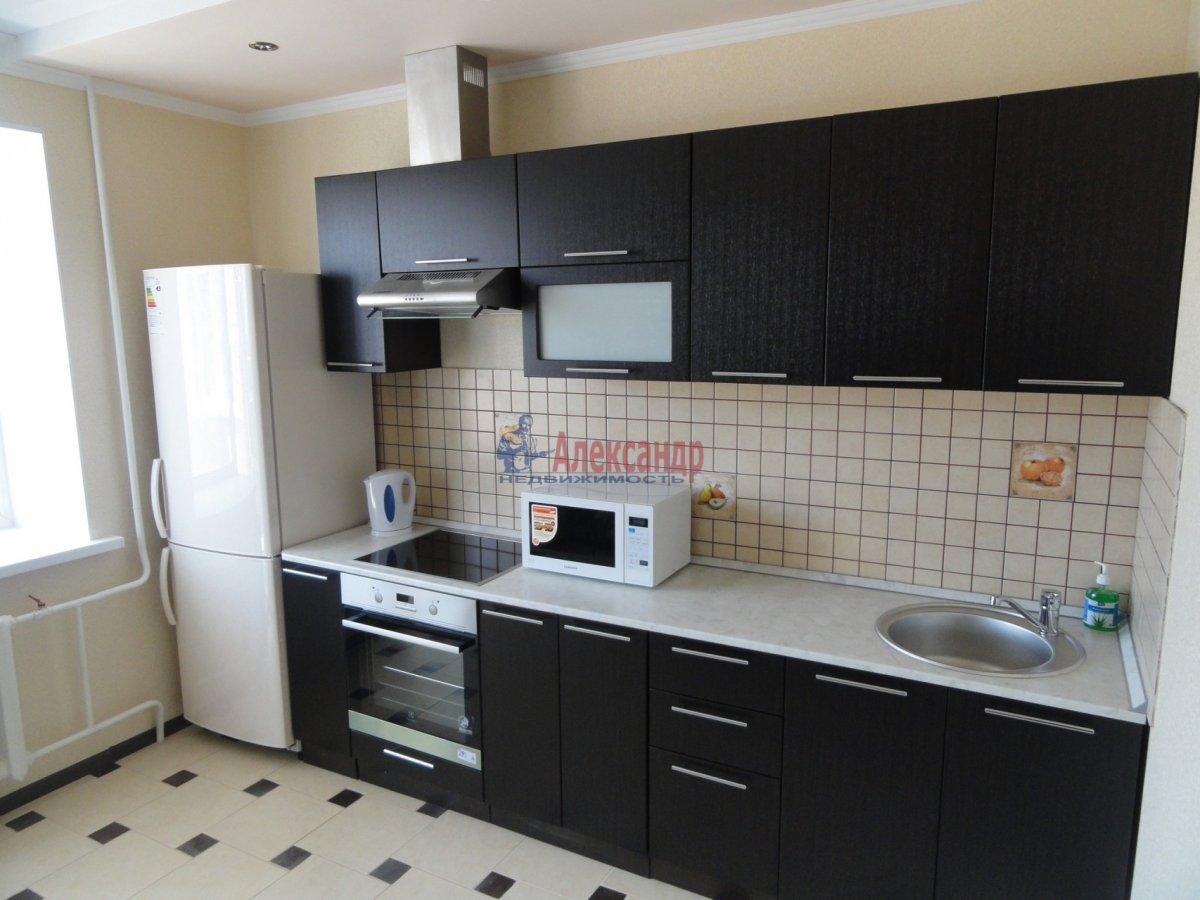 1-комнатная квартира (43м2) в аренду по адресу Учительская ул., 18— фото 1 из 4