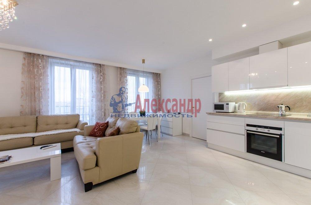 2-комнатная квартира (66м2) в аренду по адресу Чернышевского пр., 4— фото 9 из 27