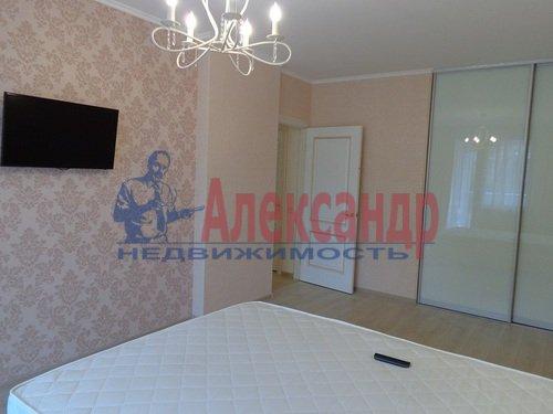 2-комнатная квартира (75м2) в аренду по адресу Резная ул., 6— фото 3 из 9