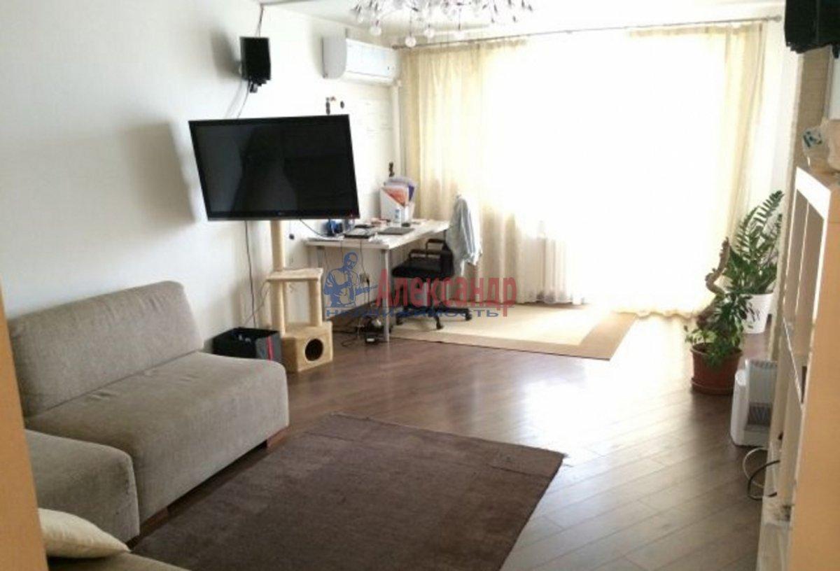 1-комнатная квартира (45м2) в аренду по адресу Туристская ул., 2— фото 2 из 2