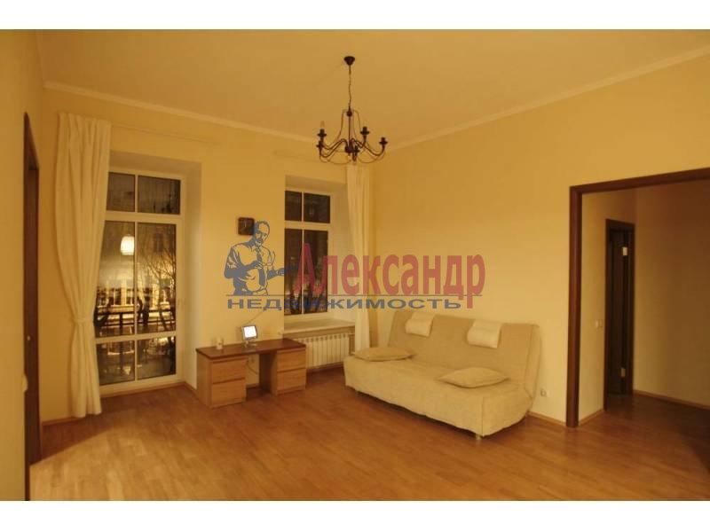 2-комнатная квартира (50м2) в аренду по адресу Большой пр., 88— фото 2 из 5